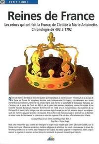 Reines de France. Chronologie de 493 à 1792 - Collectif - Livre