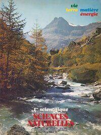 Sciences naturelles 1ère scientifique - Jean-Pierre Gourlaouen - Livre