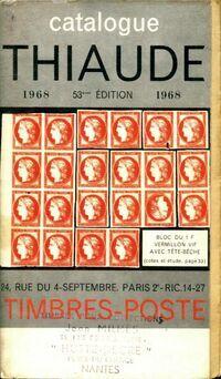 Catalogue Thiaude 1968 - Collectif - Livre