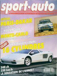 Sport-auto n°324 : Spécial Paris-Dakar - Collectif - Livre
