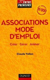 Associations mode d'emploi - Claude Vallon - Livre