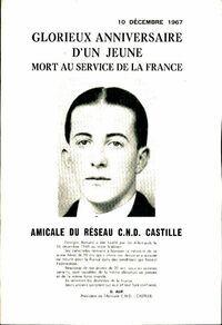 Glorieux anniversaire d'un jeune mort au service de la France - Georges Bernard - Livre