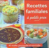 Recettes familiales à petit prix - Franck Schmitt - Livre