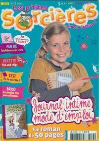 Les p'tites sorcières n°137: Journal intime, mode d'emploi - Collectif - Livre