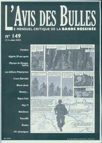 L'avis des bulles n°149 - Collectif - Livre
