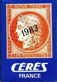 Catalogue Cérès 1983 - Collectif - Livre