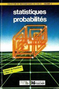 Statistiques probabilités 1ère - Martine Kahn - Livre