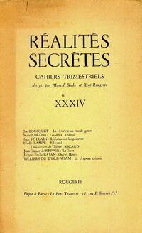 Réalités secrètes Tome XXXIV - Collectif - Livre