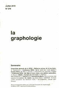 La graphologie n°279 - Collectif - Livre