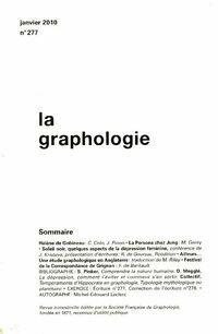 La graphologie n°277 - Collectif - Livre