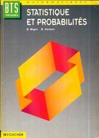 Statistique et probabilités BTS tertiaires - Bernard Verlant - Livre