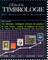 L'écho de la timbrologie n°1480 : Nouveaux catalogues - Collectif - Livre
