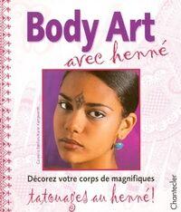 ART Body art avec henné - Cornelia Emilian - Livre