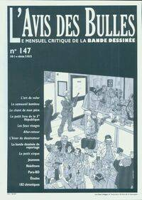 L'avis des bulles n°147 - Collectif - Livre