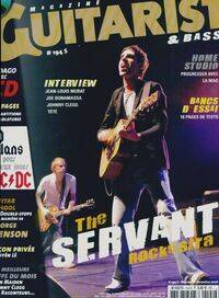 MAG Guitarist & Bass Mag n°194 : The Servant - Collectif - Livre