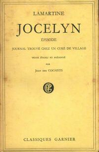 Jocelyn /Episode / Journal trouvé chez un curé de village - Alphonse De Lamartine - Livre