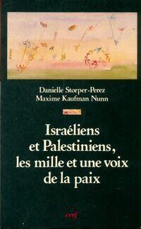Israéliens et palestiniens,Les mille et une voix de la paix - Maxime Storper-Perez - Livre