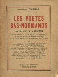 Les poètes bas-normands - Jean-Louis Vaneille - Livre