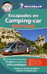 Escapades en camping-car Europe 2009 - Collectif - Livre
