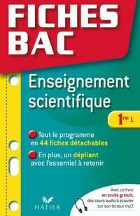 Enseignement scientifique 1re L - Isabelle Bednarek-Maitrepierre - Livre
