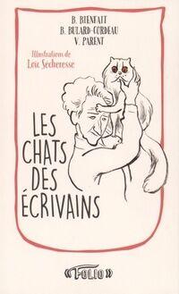 Les chats des écrivains - Bérangère Bienfait - Livre