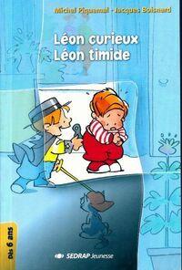 Léon curieux / Léon timide - Michel Piquemal - Livre