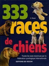333 races de chiens - Valeria Rossi - Livre