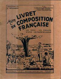Mon livret de composition française R4 - Collectif - Livre