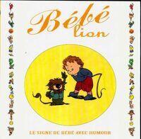 Bébé Lion - Goupil - Livre