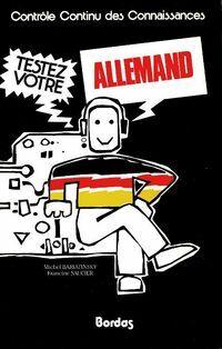 Testez votre allemand - Michel Bariatinsky - Livre