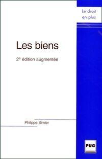 Les biens - Philippe Simpler - Livre