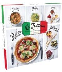 Coffret la trattoria : Plus de 100 recettes buonissime ! - Collectif - Livre