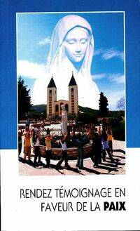Rendez témoignage en faveur de la paix - Ivan Sesar - Livre
