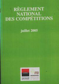 Règlement national des compétitions - Collectif - Livre