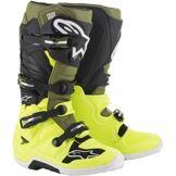 ALPINESTARS Bottes ALPINESTARS Tech 7 Yellow Fluo / Military Green / Black