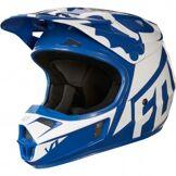 FOX Casque FOX V1 Race 2018 Junior Blue