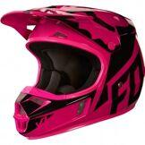 FOX Casque FOX V1 Race 2018 Junior Pink