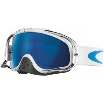 OAKLEY Lunettes OAKLEY Crowbar MX Villopoto Signature Series High Octane RWB Black Ice Iridium
