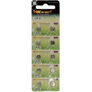 False Piles boutons type LR41 par 10 - Publicité