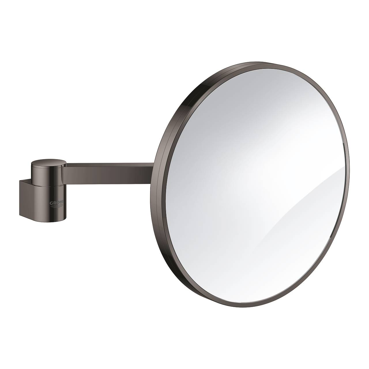 Grohe Selection - Miroir cosmétique mirrored / hard graphite