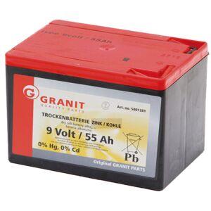 Batterie sèche 9V 55Ah - Universel - Publicité