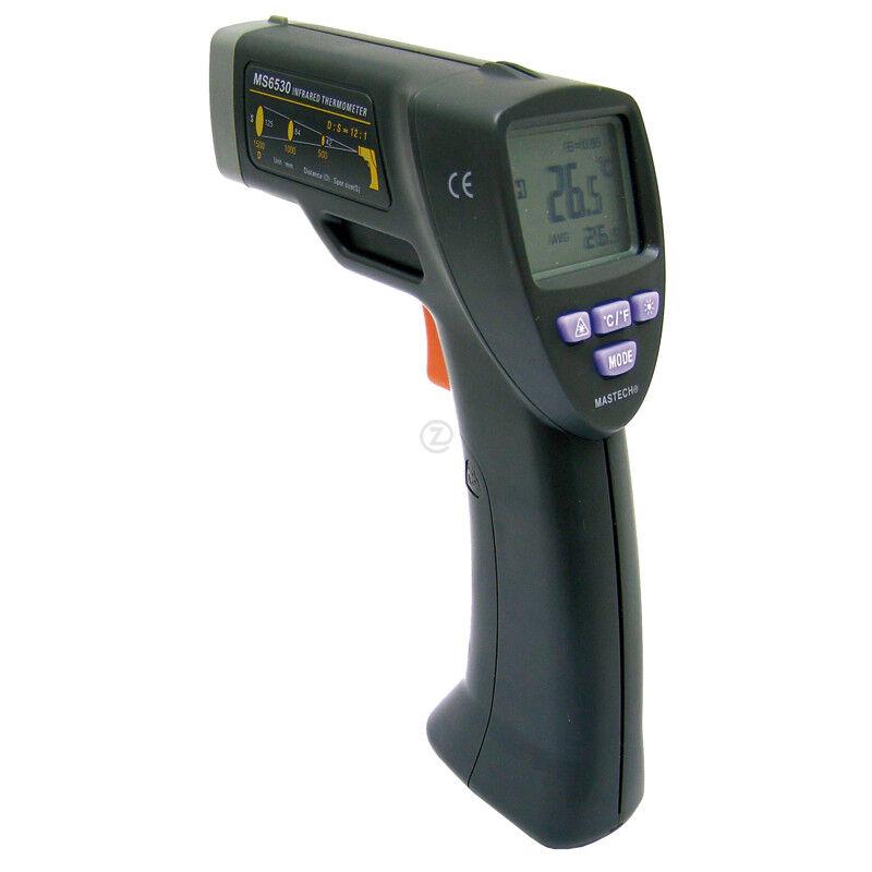 thermomètre à infrarouge  avec pochette de rangement