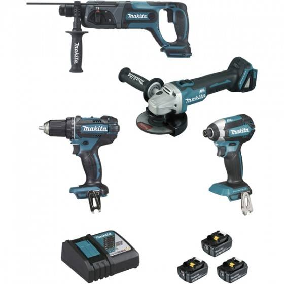 Makita Pack 4 machines Makita