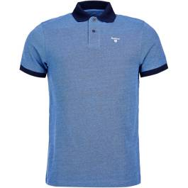 Barbour Sports Polo Mix Navy Polos Homme