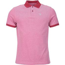 Barbour Sports Polo Mix Raspberry Polos Homme