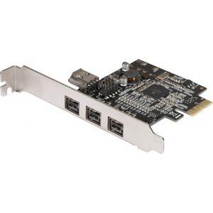 MCAD Carte Pci-Express Firewire 800 3Port 1394B + 1X1394A Interne