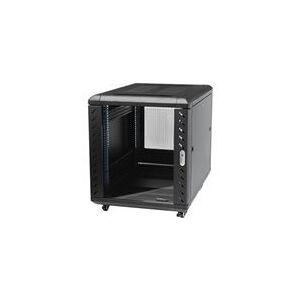 StarTech.com Armoire serveur non assemblee avec roulettes 12U 91 cm