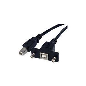 StarTech.com Câble USB 30cm monte sur panneauB vers B - F/M