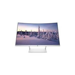 "HP 27 - LED monitor - curved - 27"" (27"" viewable) - 1920 x 1080 Full HD (1080p) - VA - 300 cd/m² - 3000:1 - 5 ms - HDMI, DisplayPort - speakers - pike silver - for HP 14, 15, 17  Desktop M01  ENVY TE01  ENVY x360  Pavilion 15, TP01  Pavilion x36"