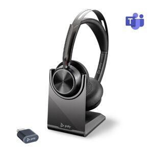 Poly Voyager Focus 2 UC USB-C MS avec base de recharge - Publicité